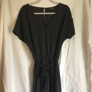 DOTTED PANT ROMPER